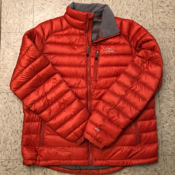 LL Bean ultralight 850 down jacket